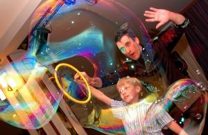 Шоу для детей - Шоу мыльных пузырей